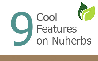 9 Cool Features On Nuherbs Website