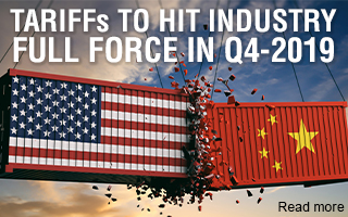2019 Tariff pain to hit industry full force in Q4