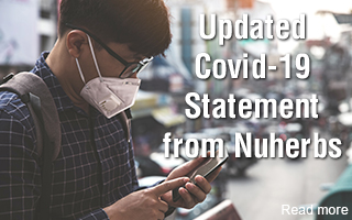 Updated Covid-19 statement from Nuherbs