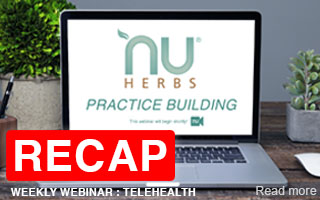 RECAP: Nuherbs Practice Building Telehealth