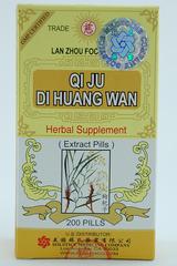 Qi Ju Di Huang Wan -200 Pills