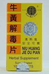 Niu Huang Jie Du Pian-100 Tablets