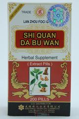 Shi Quan Da Bu Wan -200 Pills