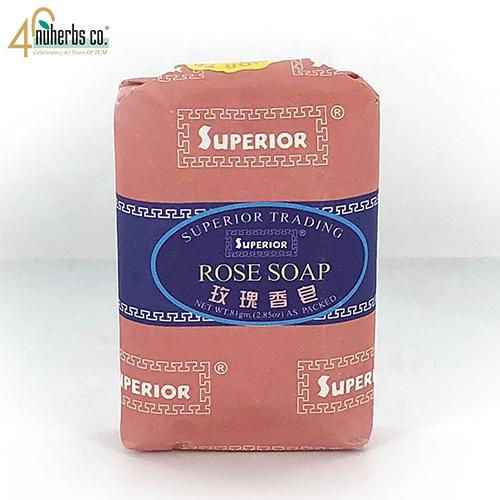 Rose Soap 81 gram x 12