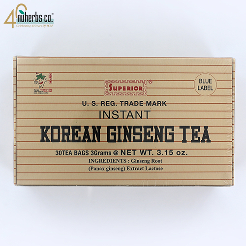 Korean Ginseng Instant Tea 30 bags