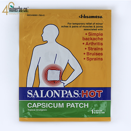 Salonpas Hot Plaster -1 (Expires 12/2019)