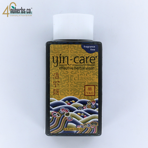 Yin-Care Fragrance Free Herbal Wash 3.4 Oz