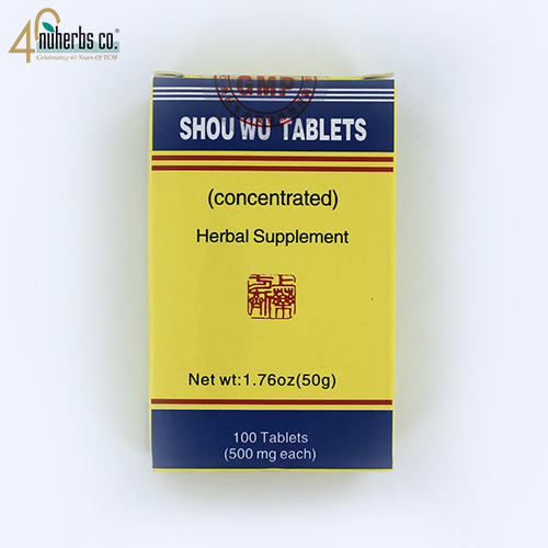 Shou Wu Pian -100 pills