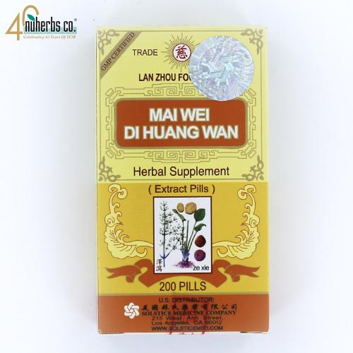 Mai Wei Di Huang Wan -200 Pills
