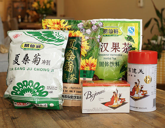 Bojenmi Diet Tea -teabags